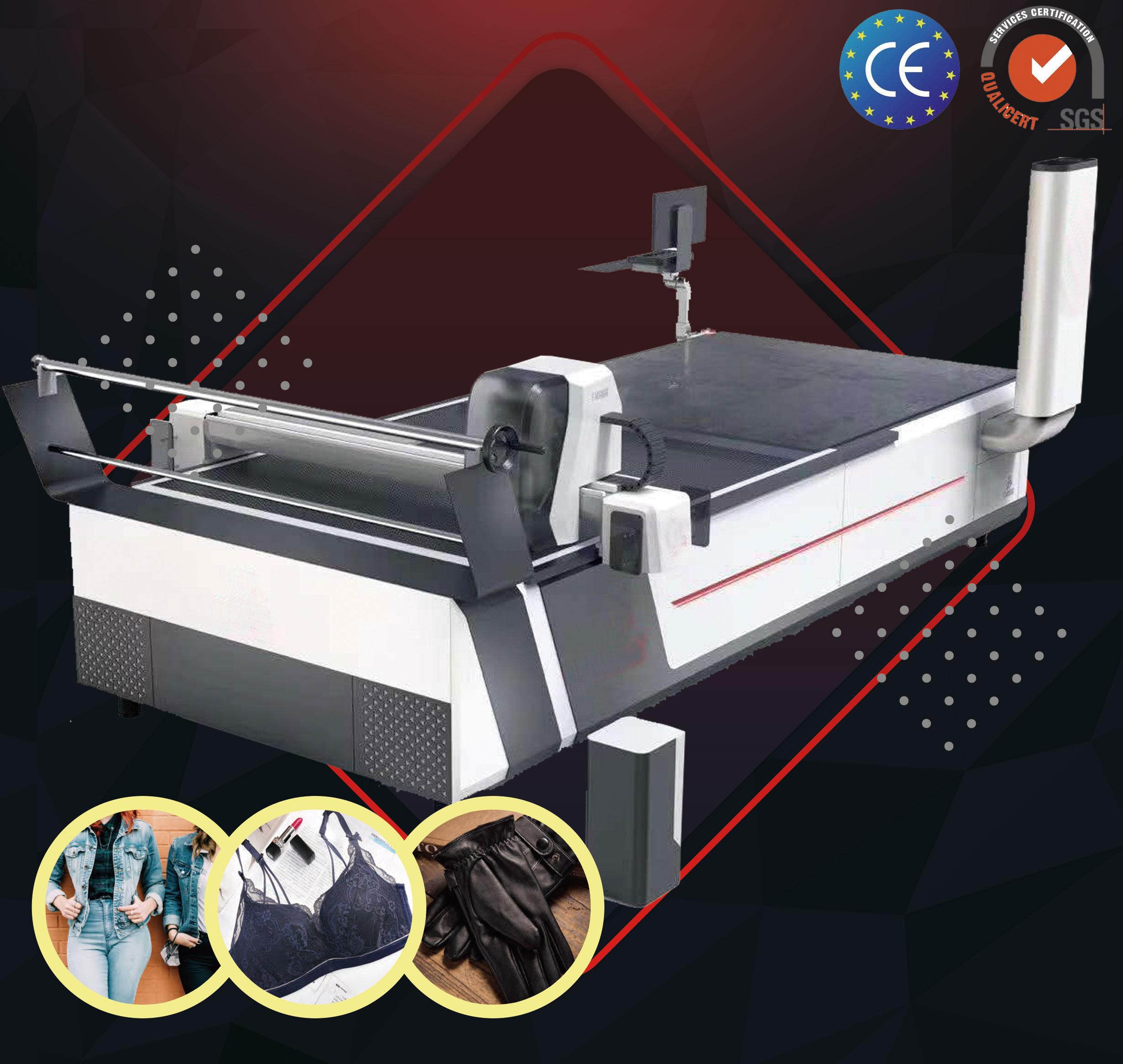Full Auto Cutter for Garment